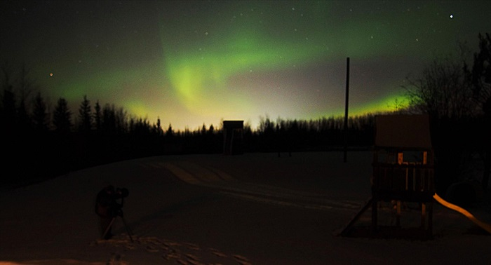 Northern Lights And Starry Nights In Fort Mcmurray