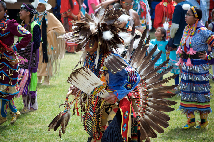 Dancers at Williams Lake Pow Wow