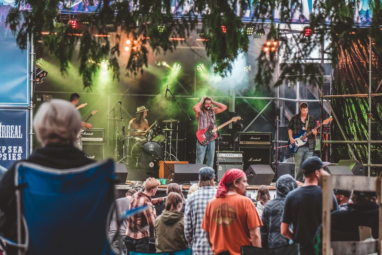 Get your amp on, and head to the Five Acre Shaker music fest